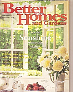 Better Homes and gardens -  March 1998 (Image1)
