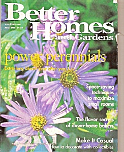 Better Homes And Gardens - April 1998