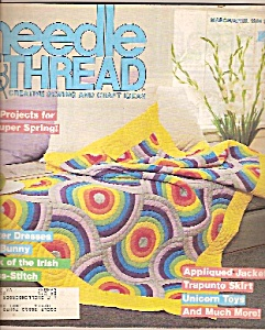 Needle and thread - March- April 1984 (Image1)