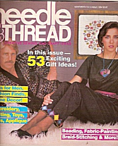 Needle & thread magazine -  November/December 1984 (Image1)
