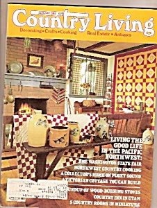 Country Living -  January 1984 (Image1)