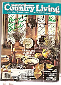 Country Living -  October 1987 (Image1)