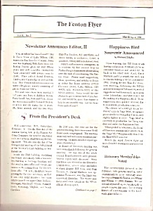 The Fenton Flyer - March/april 1991