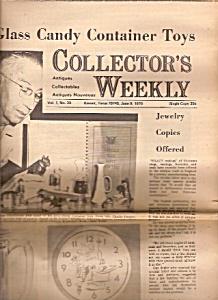 Collector's weekly -  June 9, 1970 (Image1)