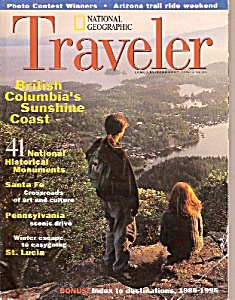 National Geographic Traveler -  January-February 1996 (Image1)