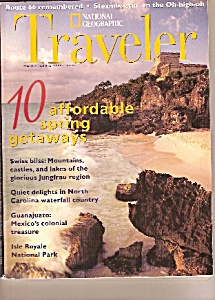 National Geographic Traveler - Marchapril 1996