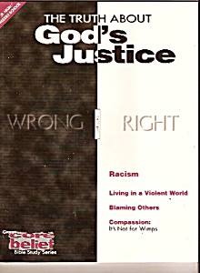 Bible study series - THE TRUTH ABOUT GOD'S JUSTICE  - 1 (Image1)