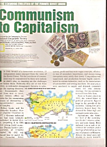 Communism to Capitalism chart and map - March 1993 (Image1)