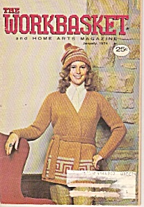 The Workbasket And Home Arts Magazine- January 1974