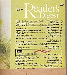 Reader's Digest =  April 1977 (Image1)