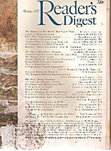 Reader's Digest  - October 1973 (Image1)