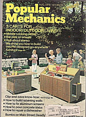 Popular Mechanics -  August 1973 (Image1)