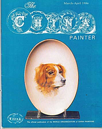 The China Painter - Vintage Wocp Book