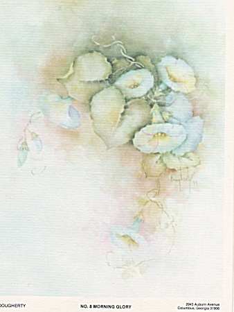 Morning Glory - Mary Dougherty - Study 4 - 1976 - Oop