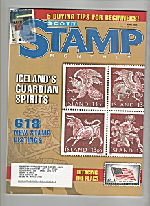 Scott Stamp Monthly  -April; 2005 (Image1)