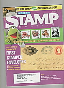 Scott Stamp Monthly Magazine - September 2005