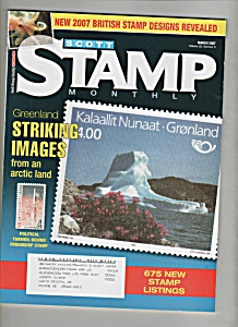 Scott Stamp Monthly Magazine- March 2007