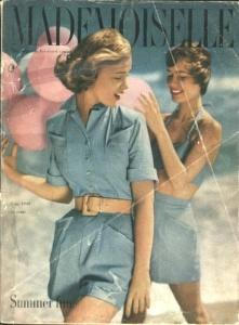 1949 Mademoiselle Magazine CLOUD COLLEGE (Image1)