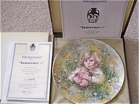 Mary Vickers Innocence Wedgewood Suzanne Coll