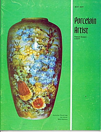 Porcelain Artist Book May 1977