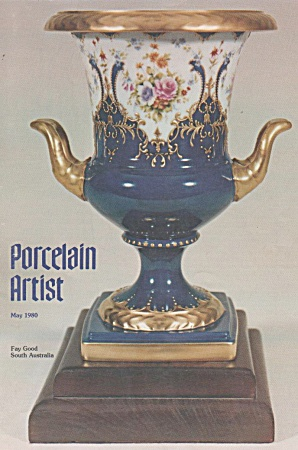 Vintage - Ipat - Porcelain Artist - October-1980