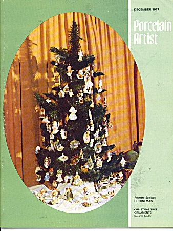 Porcelain Artist December 1977