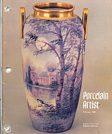 Porcelain Artist - Ipat - Book February, 1980