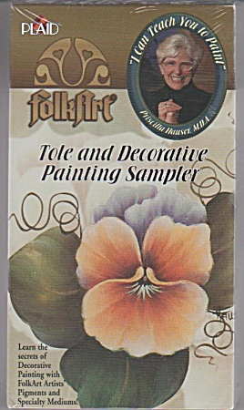 Tole - Decorative Painting - Hauser - Video