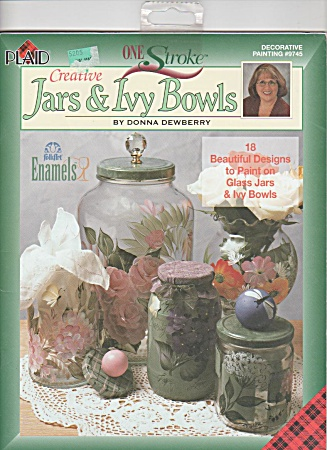 DONNA DEWBERRY~ONE STROKE PAINTING~JARS-IVY B (Image1)