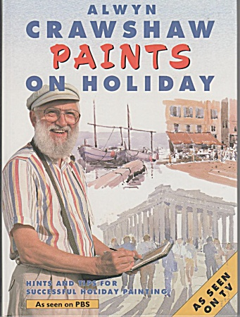 ALWYN CRAWSHAW~PAINTS ON HOLIDAY~1993 (Image1)