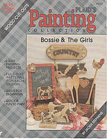 Vintage - Paint Wood Cutouts Bossie & The Girls