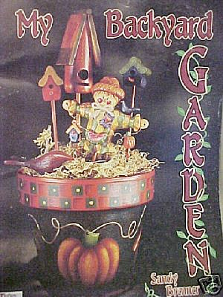 Vintage - 1995 - My Backyard Garden - Sandy Brenner