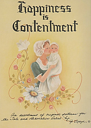 Vintage - Happiness Is Contentment - Oop - 1977