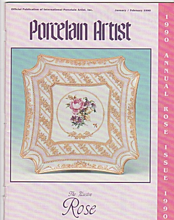 Vintage - Ipat - Porcelain Artist - Jan - Feb - 1990