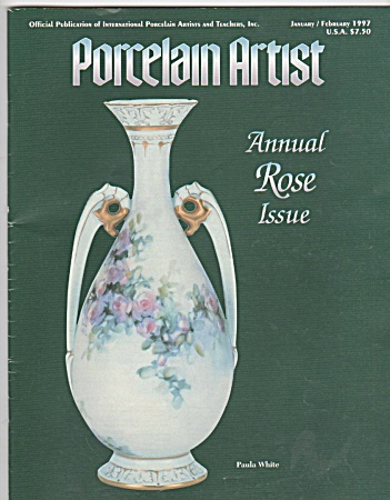 Vintage - Ipat - Porcelain Artist - Jan-feb-1997