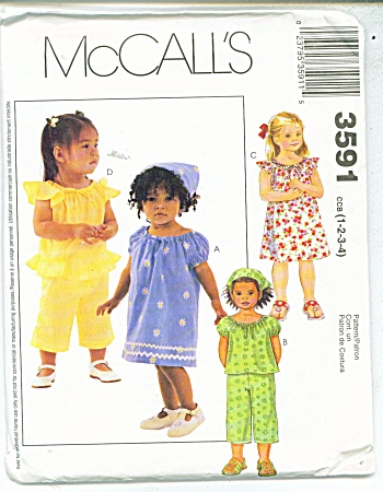 SIMPLICITY BABY PATTERNS  3581 (Image1)