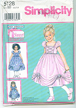 DAISY KINGDOM PAGEANT DRESS UNCUT (Image1)
