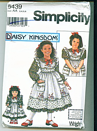 DAISYKINGDOM GIRLS AND DOLL DRESS PATTERNS (Image1)