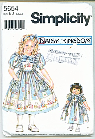 Simplicity Daisy Kingdom Dress And Do Ll