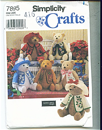 Elain Heigl Teddy Bear Pattern