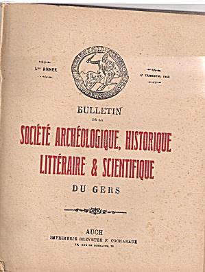 Societe Archeologique, Historique -4trh trimestre1949 (Image1)