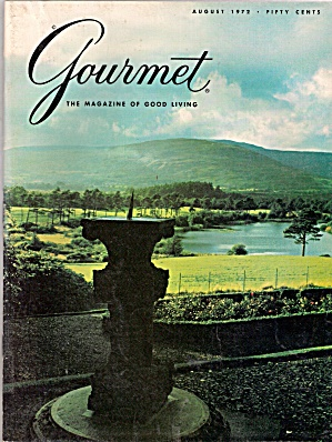 Gourmet Magazine - August 1972