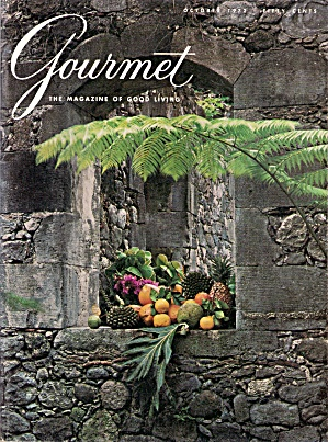 Gourmet magazine -  October 1972 (Image1)