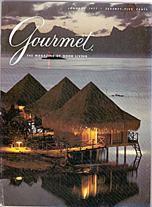 Gourmet Magazine - January 1977