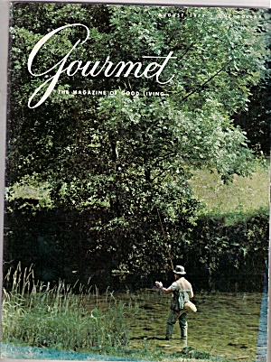 Gourmet Magazine- August 1977