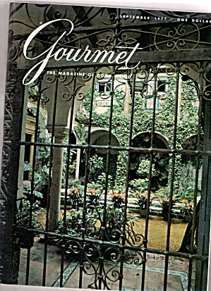 Gourmet Magazine -  September 1977 (Image1)