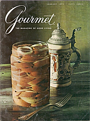 Gourmet Magazine - January 1971 (Image1)
