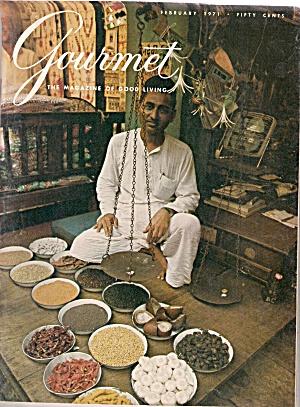 Gourmet magazine - February 1971 (Image1)