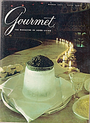 Gourmet magazine - March 1971 (Image1)