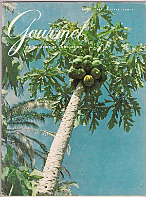 Gourmet Magazine -  April 1971 (Image1)